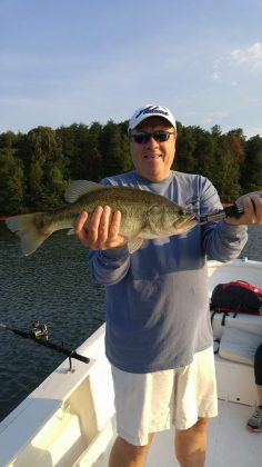 June striper fishing sc up close outfitters for Lake hartwell striper fishing report